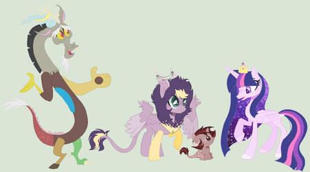 Twicord Royal Family by Miss-DumpAss