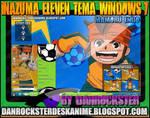 Mamoru Endo Theme Windows 7 by Danrockster