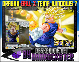 Vegetto Theme Windows 7 by Danrockster