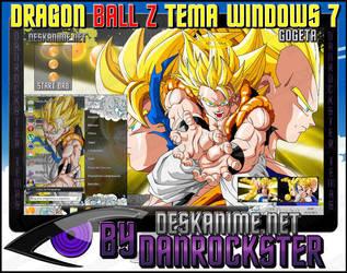 Gogeta Theme Windows 7 by Danrockster