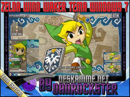 Link Zelda Wind Waker Windows 7 Theme by Danrockster