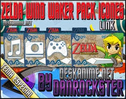 Link Zelda Wind Waker Pack Icons by Danrockster