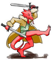 Half Dragon Samurai - Dynamic by LCom