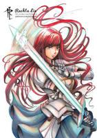 Erza Scarlet - Fairy Tail by Rachta
