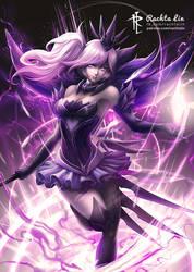 Dark Elementalist Lux (LoL - League of Legends) by Rachta