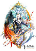 Final Fantasy VII : Sephiroth by Rachta