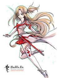 Yuuki Asuna (Sword Art Online) by Rachta
