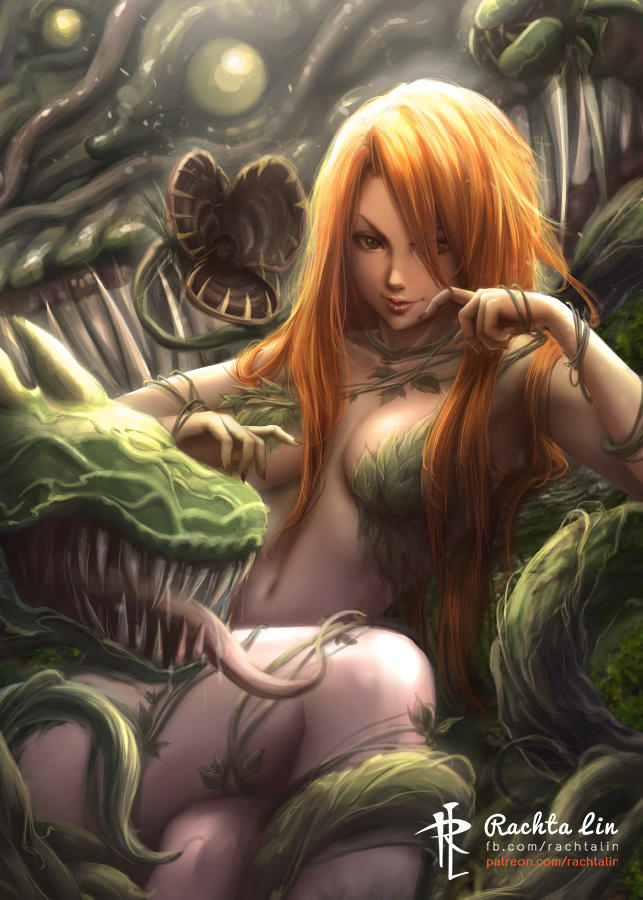 Poison Ivy (DC Comics) by Rachta