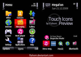 Touch Icons Coming Soon by evasketch