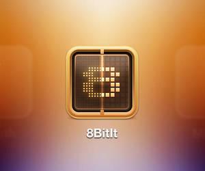 8BitIt iOS Icon by evasketch