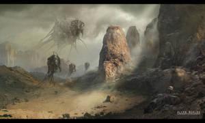 Alien World by Meewtoo