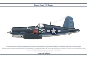 F4U-1A USA VF-17 1 by WS-Clave