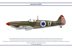 Spitfire Mk IX Israel 1 by WS-Clave