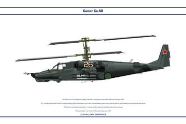 Kamov Ka-50 3 by WS-Clave