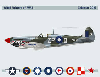 Allied Fighters Calendar 2010 by WS-Clave