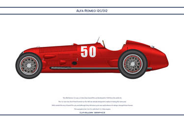 Alfa Romeo 12c 312 by WS-Clave