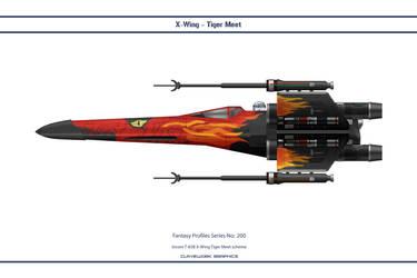 Fantasy 200 X-Wing Tiger by WS-Clave