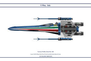Fantasy 408 X-wing Italy by WS-Clave
