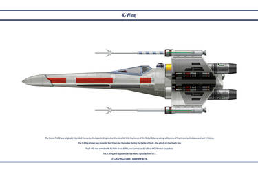 X Wing Red 5 by WS-Clave