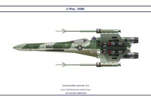 Fantasy 612 X-Wing USMC by WS-Clave