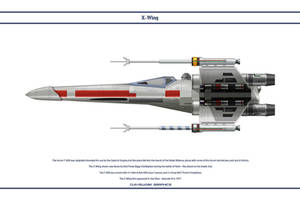 X-Wing Red 3 by WS-Clave