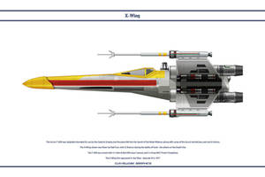 X-Wing Red 4 by WS-Clave