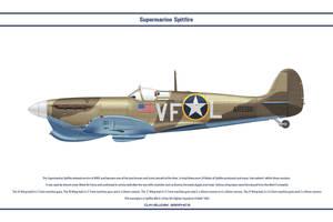 Spitfire Mk V USAAF 5th FS by WS-Clave