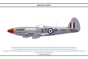 Spitfire Mk 22 GB 603 Sqn by WS-Clave