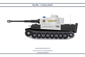 Fantasy 784 Tiger Mk1 LA County Sheriff by WS-Clave