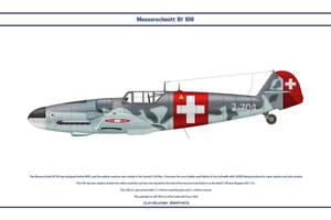 Bf 109 G-6 Switzerland 1 by WS-Clave