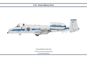 Fantasy 858 A-10A Arizona Highway Patrol by WS-Clave