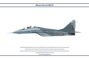 MiG-29 Serbia 2 by WS-Clave