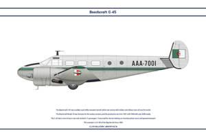 Beech C-45 Algeria 1 by WS-Clave