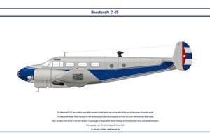 Beech C-45 Cuba 1 by WS-Clave