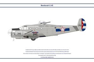 Beech C-45 Cuba 2 by WS-Clave