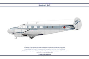 Beech C-45 Haiti 1 by WS-Clave