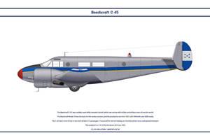 Beech C-45 Honduras 1 by WS-Clave