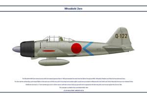 Zero Japan 2nd Kokutai 1 by WS-Clave