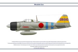 Zero Japan Hiryu 1 by WS-Clave