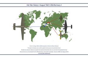 Air War 1943 August by WS-Clave