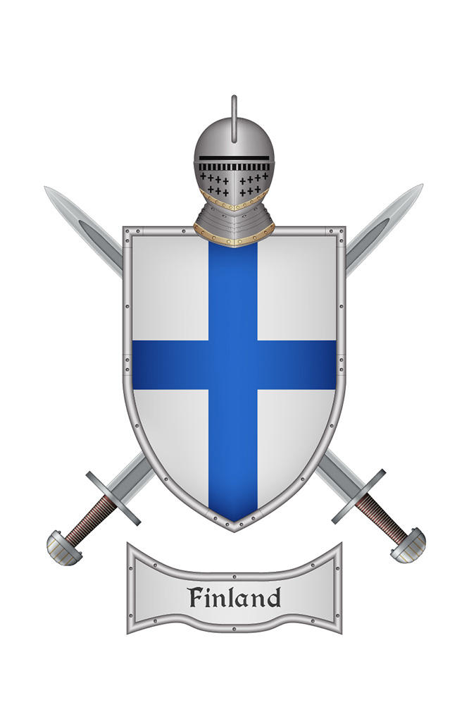 Shield Finland 1 by WS-Clave