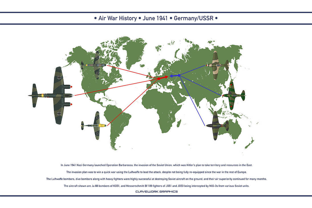 Air War 1941 June by WS-Clave