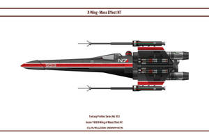 Fantasy 953 X-Wing Mass Effect N7 by WS-Clave