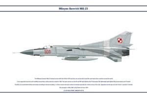 MiG-23 Poland 3 by WS-Clave
