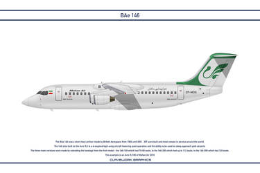 Bae 146 Mahan Air by WS-Clave