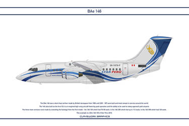 Bae 146 Star Peru by WS-Clave
