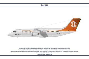Bae 146 Uni Air by WS-Clave