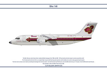Bae 146 Thai Airways by WS-Clave