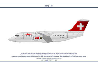 Bae 146 Swiss International by WS-Clave