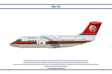 Bae 146 Meridiana by WS-Clave